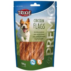 TRIXIE Snack mit Rinderhaut-Kaurollen und Hühnerbrust PREMIO 100 g