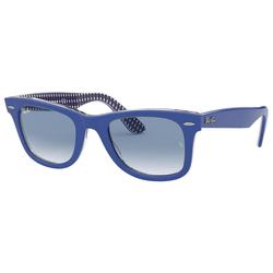 RAY BAN Sonnenbrille WAYFARER RB2140 blau L