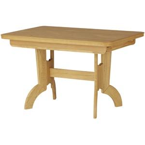 Säulentisch ausziehbar  E26 ¦ holzfarben