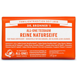 Dr Bronners Teebaum Reine Naturseife 140 g