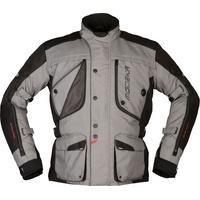Modeka Aeris, Textiljacke - Grau/Schwarz - XS