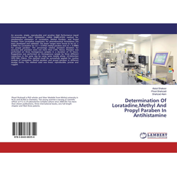 Determination Of LoratadineMethyl And Propyl Paraben In Antihistamine als Buch von Abdul Shakoor/ Phool Shahzadi/ Shahzad Alam