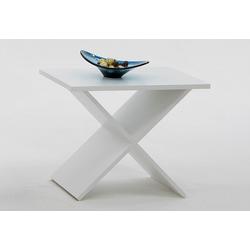 FMD Tisch Phil weiß Tischplatte: Holzwerkstoff, Gestell: Holzwerkstoff