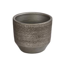 Dehner Übertopf Übertopf Kane, Keramik, braun