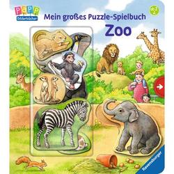 Ravensburger Mein großes Puzzle-Spielbuch Zoo