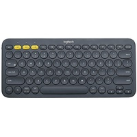Bluetooth Multi-Device Tastatur DE dunkelgrau (920-007566)