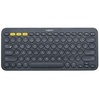 Bluetooth Multi-Device Tastatur DE dunkelgrau (920-007566)