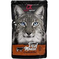 Alpha Spirit Cat Beef Mousse | 24x 85g Katzenfutter