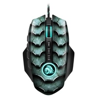 Sharkoon Drakonia II Gaming Maus grün/schwarz