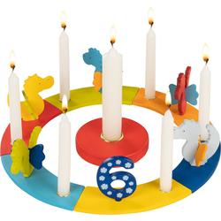 goki Kerzenhalter Geburtstagskranz Drachen