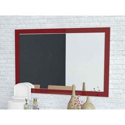 Spiegel Camina (BH 110x70 cm) rot hochglanz