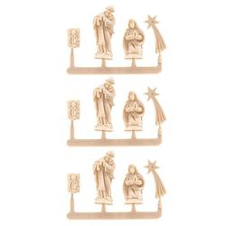 Miniatur-Krippenfiguren, 3er Set