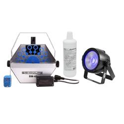 Showlite BM-60 UV-Seifenblasen Set Blau