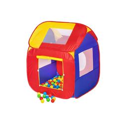 tectake Spielzelt Spielzelt mit 200 Bällen