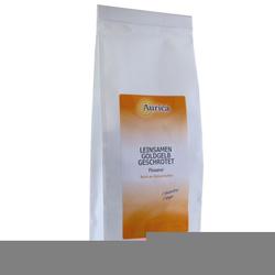 LEINSAMEN goldgelb geschrotet 500 g