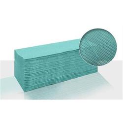Lorito Papierhandtücher Grün Handtuchpapier V-Falz