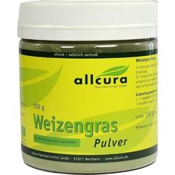 Weizengras Pulver Kontrol.Biologischer Anbau