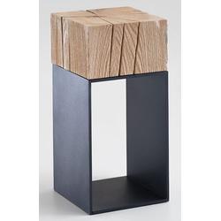 Hartmann kleiner Beistelltisch Massivholz rustikal