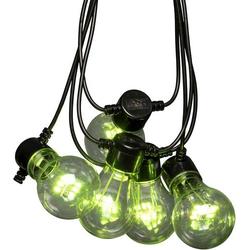 LED-Biergartenlichterk 10er klar RGB