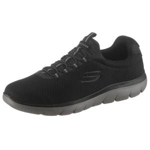Skechers Summits Slip-On Sneaker mit komfortabler Memory Foam-Ausstattung schwarz 47