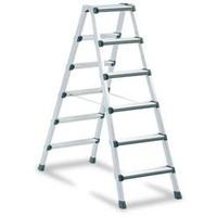 ZARGES Stufen-Stehleiter 2 x 5 Stufen (41434NL)