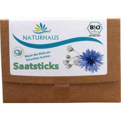 NATURHAUS Blumen Saatsticks 8 Stück