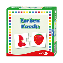 Noris Puzzle Farben- Puzzle, Puzzleteile