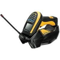 Datalogic PowerScan 9501 Tragbares Barcodelesegerät 1D/2D Laser Schwarz, Gelb