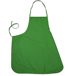 Schürze, grün, 66 x 72 cm