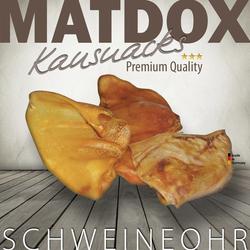 MATDOX Premium Schweineohren - 10 Stück