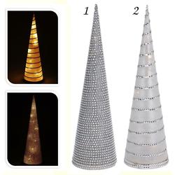Beleuchtete Pyramide - 10 LED 58 cm - Weihnachtsdekoration Weihnachtsbeleuchtung
