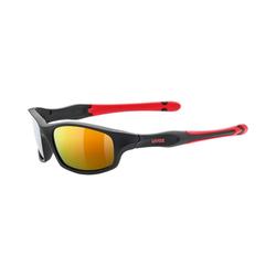 Uvex Sonnenbrille Sonnenbrillen sportstyle 507 black mat red