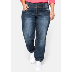 Sheego Pumpjeans Sheego dark blue Denim