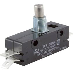 ZF Mikroschalter E14-00M 250 V/AC 25A 1 x Ein/(Ein) tastend 1St.