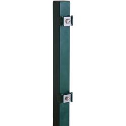 Peddy Shield Zaunpfosten, für Ein- und Doppelstabmatten grün