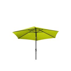 Ribelli Sonnenschirm, Sonnenschirm, hell grün, 270 cm grün