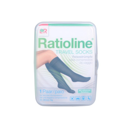 RATIOLINE Travel Socks Gr.41-45 2 St