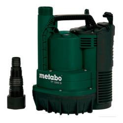 Metabo Flachsaugende Klarwasser-Tauchpumpe TP 12000 SI Karton - Wasserpumpe/ Pumpsauger/ Wassersauger