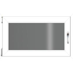 RORO Türen & Fenster Kunststofffenster, BxH: 90x60 cm, ohne Griff