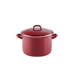 Riess Kochtopf Fleischtopf mit Glasdeckel RED Ø 20 cm