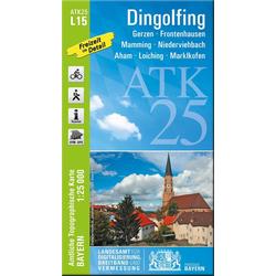 Dingolfing 1 : 25 000