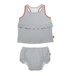 LÄSSIG Girls Splash & Fun Tankini grey