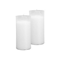 HS Candle Grabkerze (2-tlg), Nachfüllkerze 2er Pack, N1-N5, Ersatzkerze Grablicht 5,8 cm x 13 cm
