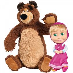 Simba–bär Misha 43cm Mit Masha 23cm 1