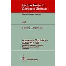 Advances in Cryptology - AUSCRYPT '90 - Buch