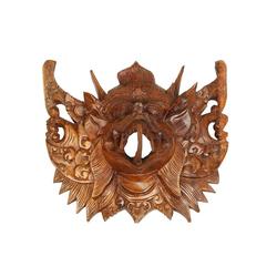 Oriental Galerie Holzbild Maske Wanddeko Garuda Maske Nr. 4, Garuda (1 Stück), Handarbeit
