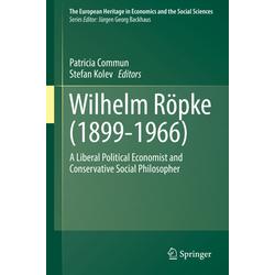 Wilhelm Röpke (1899-1966) als Buch von