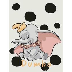 Komar Poster Dumbo Dots, Disney, Höhe: 70cm 30 cm x 40 cm