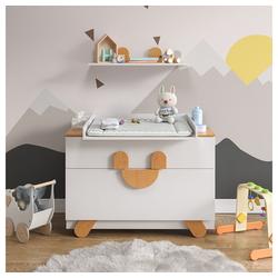 Vicco Wickelkommode Wickeltisch mit Wickelaufsatz Compo-Serie Baby Wickelregal