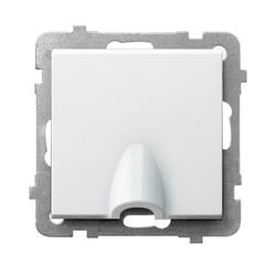 Kabelanschluss - Steckdose weiss Ospel Sonata GPPK-1R/m/00